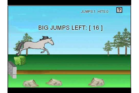 Simple Jumping for Idiots: a Horse Isle Mini-Game Guide ...