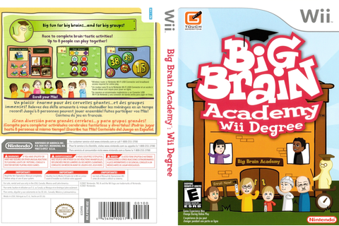 RYWE01 - Big Brain Academy: Wii Degree