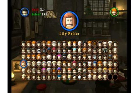 Lego Harry Potter Years 5-7: All Playable Characters ...