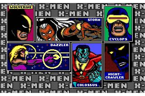 X-Men: Madness in The Murderworld Download (1989 Arcade ...