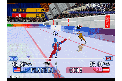 Nagano Winter Olympics '98 arcade video game by Konami Co ...