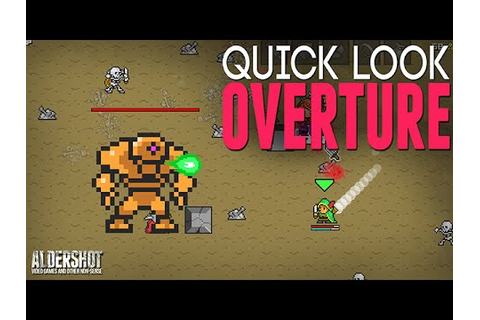 Overture: Quick Look (Indie game RPG Roguelike, gameplay ...