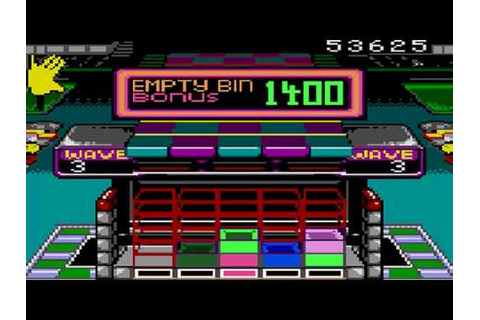 Klax Game Sample - Game Gear - YouTube