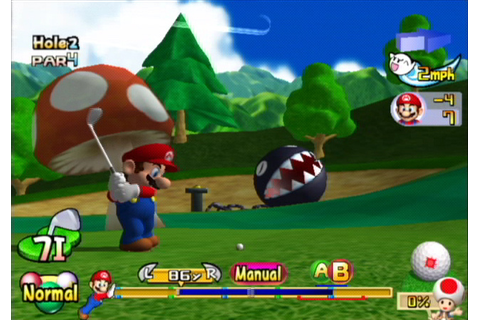 Mario Golf: Toadstool Tour (GCN / GameCube) News, Reviews ...