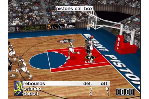 NBA Live '97 PC DOS Gameplay - Orlando Magic vs Detroit ...
