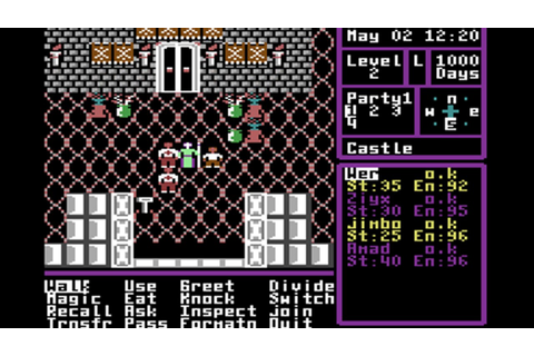 The Magic Candle [Commodore Plus/4 game] - YouTube