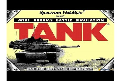 Tank: The M1A1 Abrams Battle Tank Simulation gameplay (PC ...