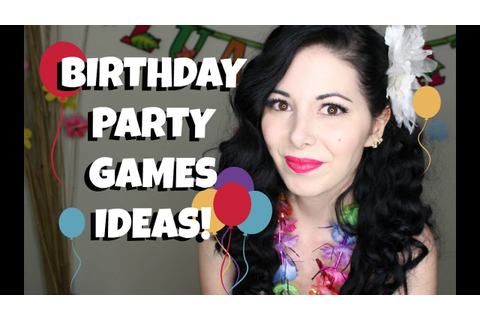 PARTY GAMES IDEAS & BIRTHDAY VLOG! - YouTube