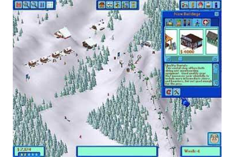 Ski Resort Tycoon Deep Powder Play Ski Resort Simulation ...