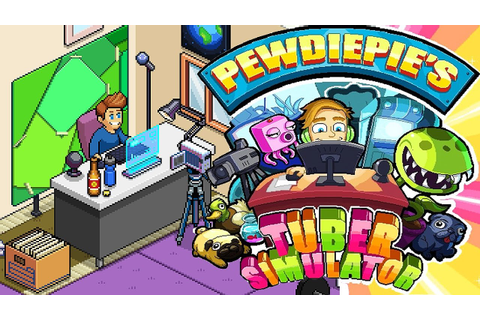 NEW PewDiePie Game! Tuber Simulator: Tutorial, Tips ...