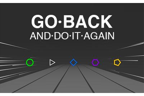 Go Back (And Do It Again) | js13kGames