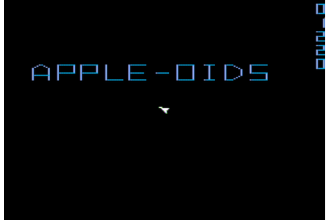Apple-oids Screenshots for Apple II - MobyGames