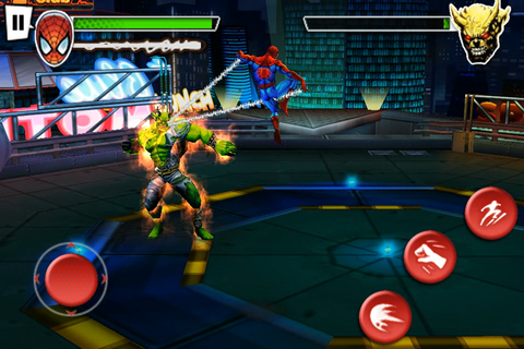 Gameloft Reveals 'Ultimate Spider-Man Total Mayhem ...