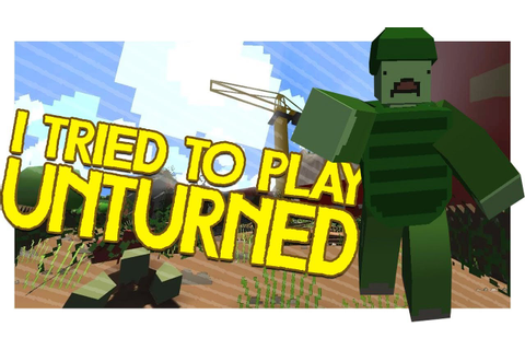 I Tried To Play Unturned (F2p Survival Game) - YouTube
