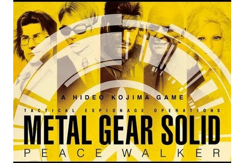 GAME MOVIE SERIES - Metal Gear Solid - Peace Walker (CAP 6 ...