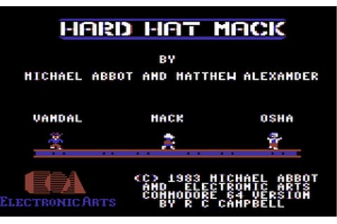 Hard Hat Mack - C64-Wiki