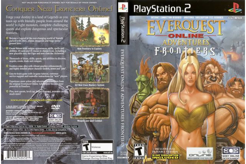Game Media Info: PS2 EverQuest Online