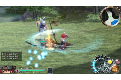 Ys: Memories of Celceta 'Duren' gameplay trailer - Gematsu