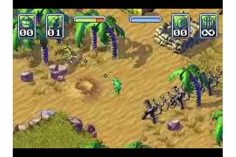 Army Men: Operation Green (Game Boy Advance) with ...