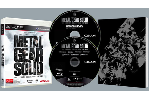 Metal Gear Solid The Legacy Collection PS3 Game Brand New ...