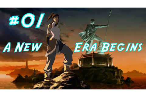The Legend of Korra - Chapter 1: A New Era Begins - YouTube