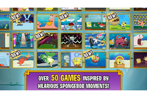 Amazon.com: SpongeBob's Game Frenzy: Appstore for Android