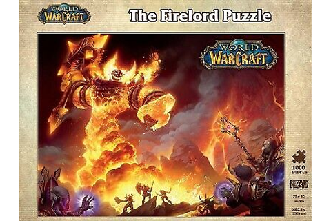 World of Warcraft - the Firelord Puzzle, Game by Blizzard ...