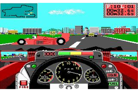 Grand Prix Circuit Download (1988 Sports Game)