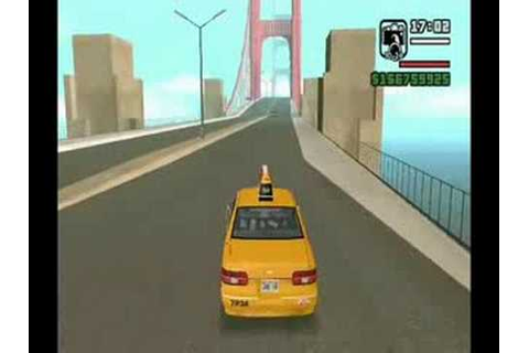 Pedágio no Golden Gate GTA San Andreas - YouTube