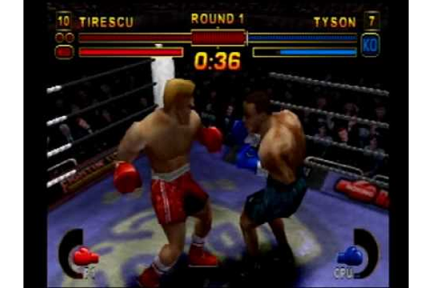 Mike Tyson Boxing Playstation - Tyson TKO'd in 1st Round ...
