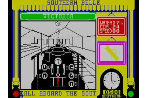 Southern Belle for ZX Spectrum, reviewed by Big Frainy ...