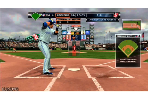 MLB 2K13 gameplay Toronto Blue Jays vs SF Giants - YouTube