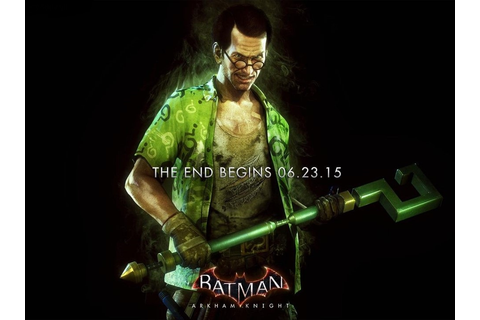 Batman: Arkham Knight - Neues Artwork zeigt den Riddler ...