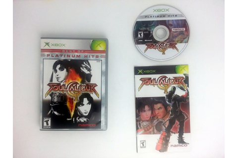 Soul Calibur II game for Xbox (Complete) | The Game Guy