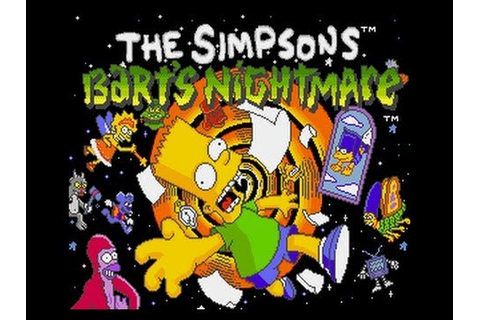 Game Review: The Simpsons: Bart's Nightmare (SNES – Video ...