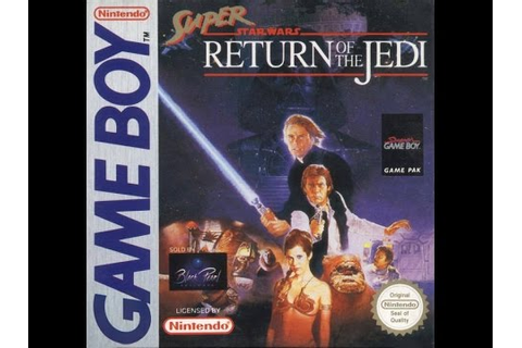 Game Boy Super Star Wars: Return of the Jedi Video ...