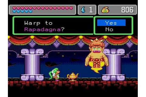 Wonder Boy in Monster World 4/IV (SEGA GENESIS) Part 1 ...