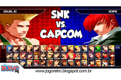 SVC Chaos: SNK vs. Capcom Special 2018 MUGEN Definitive ...