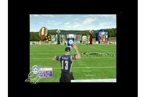 NFL QB Club 2002 PlayStation 2 Gameplay_2001_08_29 - YouTube