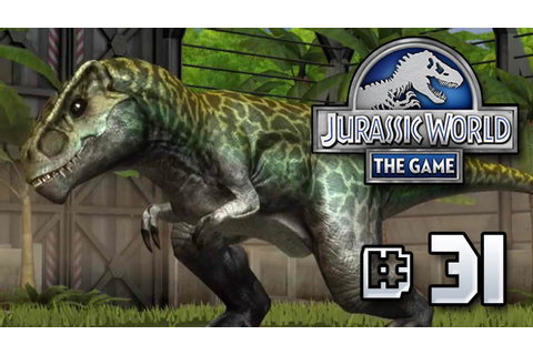 The Promised Allosaurus || Jurassic World - The Game - Ep ...