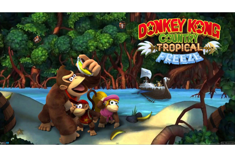 "Donkey Kong Country: Tropical Freeze ""Aquatic Ambiance ..."