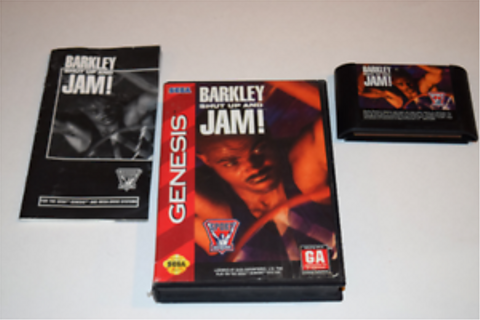 Barkley Shut Up and Jam! 2 Sega Genesis Video Game ...