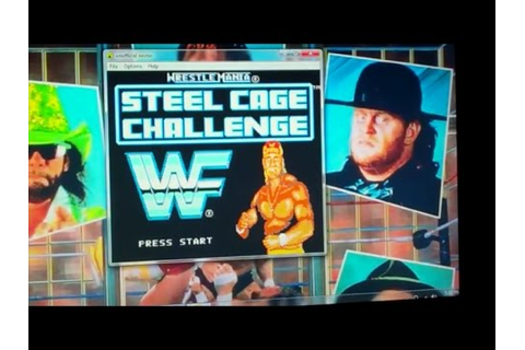WWF WrestleMania Steel Cage Challenge - YouTube