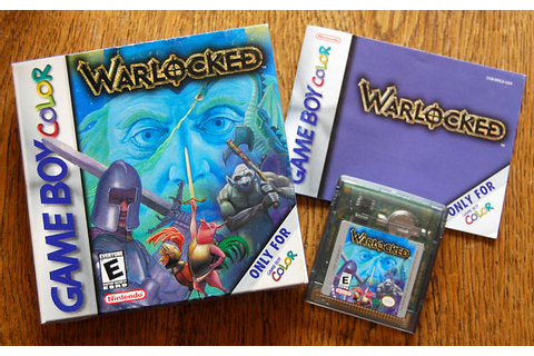 Jeu : Warlocked (Game Boy Color) | 16 Couleurs