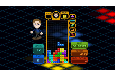 Wiiware Tetris Party Wii Gameplay HD 1080p - YouTube