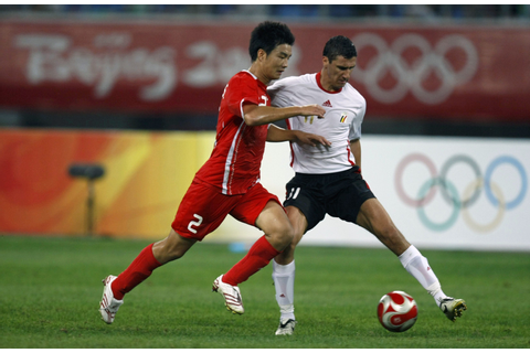 Download this Soccer Match The Beijing Olympic Games Shenyang August ...