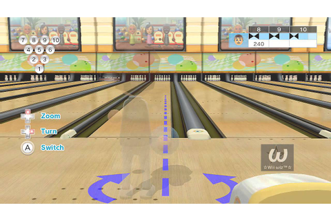 Wii Sports Club - Bowling: 10-pin game - Perfect Game ...