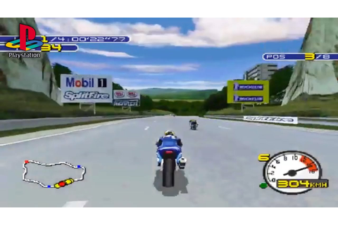 Moto Racer 2 (PS1 Gameplay) - YouTube