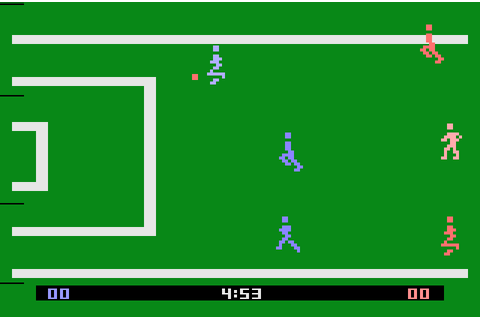 AtariAge - Atari 2600 Screenshots - Football - Realsports ...