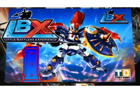 LBX: Little Battlers eXperience (3DS)[Blind] Part 1 (Toy ...